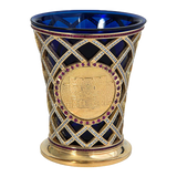 Golden Kiddush Glass