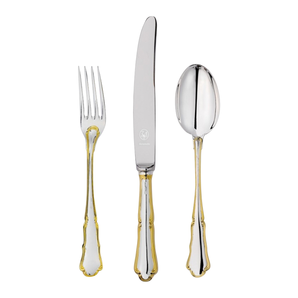 Barok Golden Silverware Set