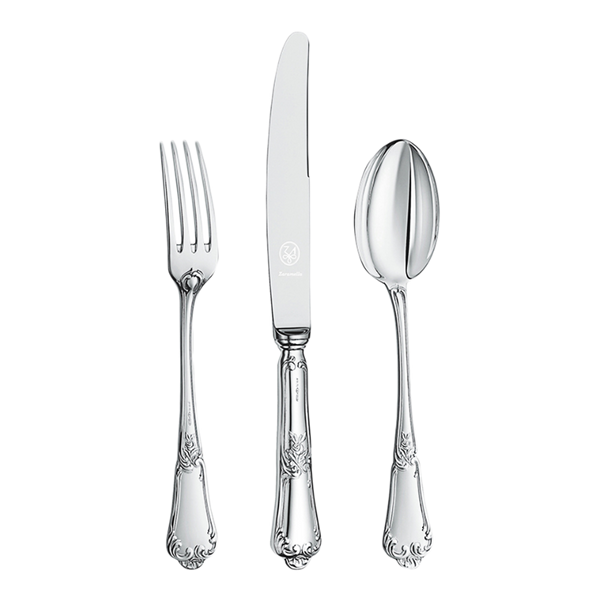 Flower Silverware Set
