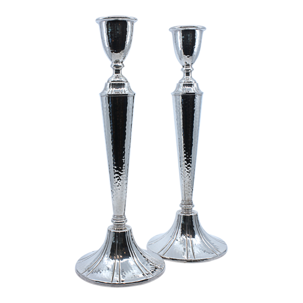 Hammered and Striped Candlesticks HL