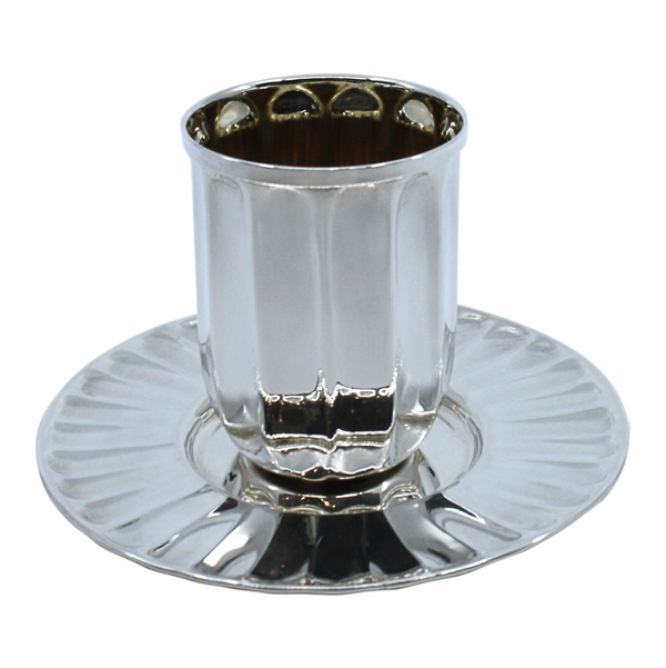 Barrel Modern Shabbat Kiddush Cup