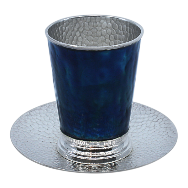 The Blue Kiddush Cup
