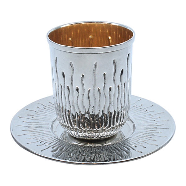 Helium Sterling Silver Kiddush Cup Set