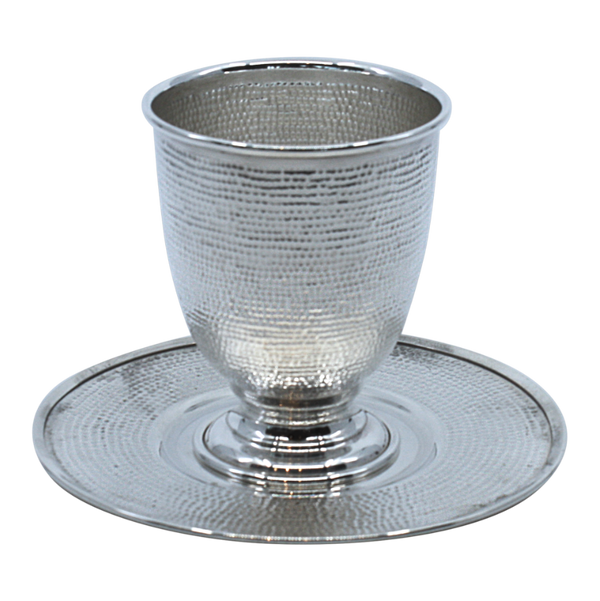 Footed Sterling Silver Kiddush Goblet