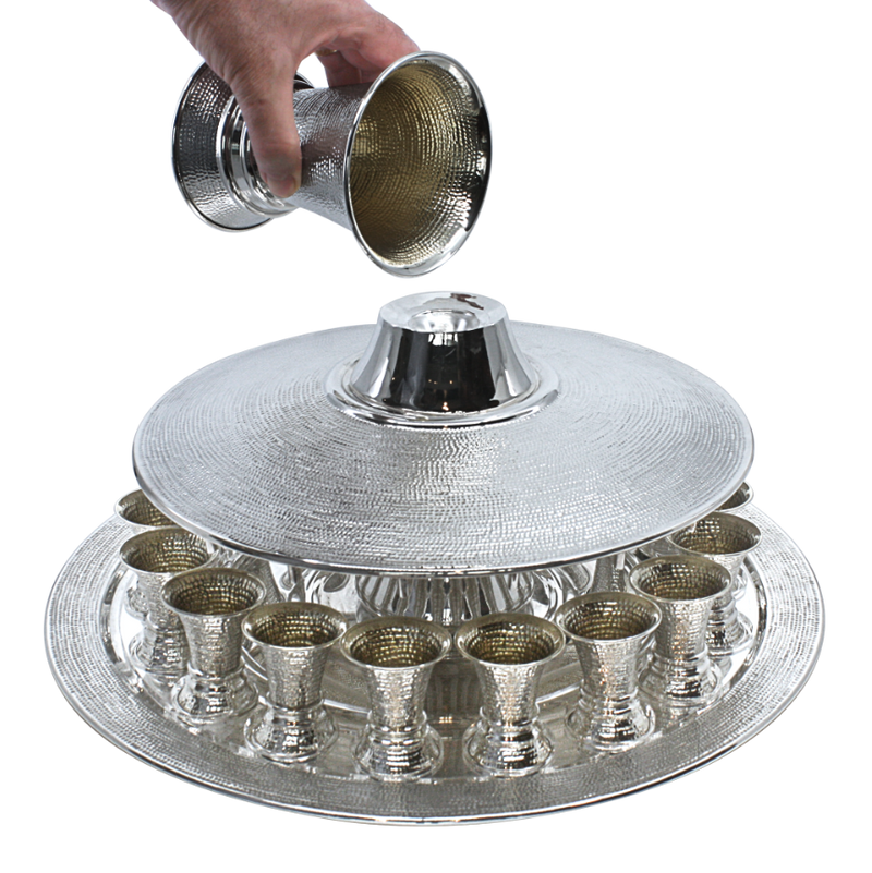 Large Spotted Kiddush Fountain- 18 Guests no stand