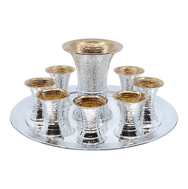 Spotted Kiddush Fountain-8 Cups
