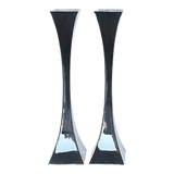 Hour Glass Shabbat Candlesticks
