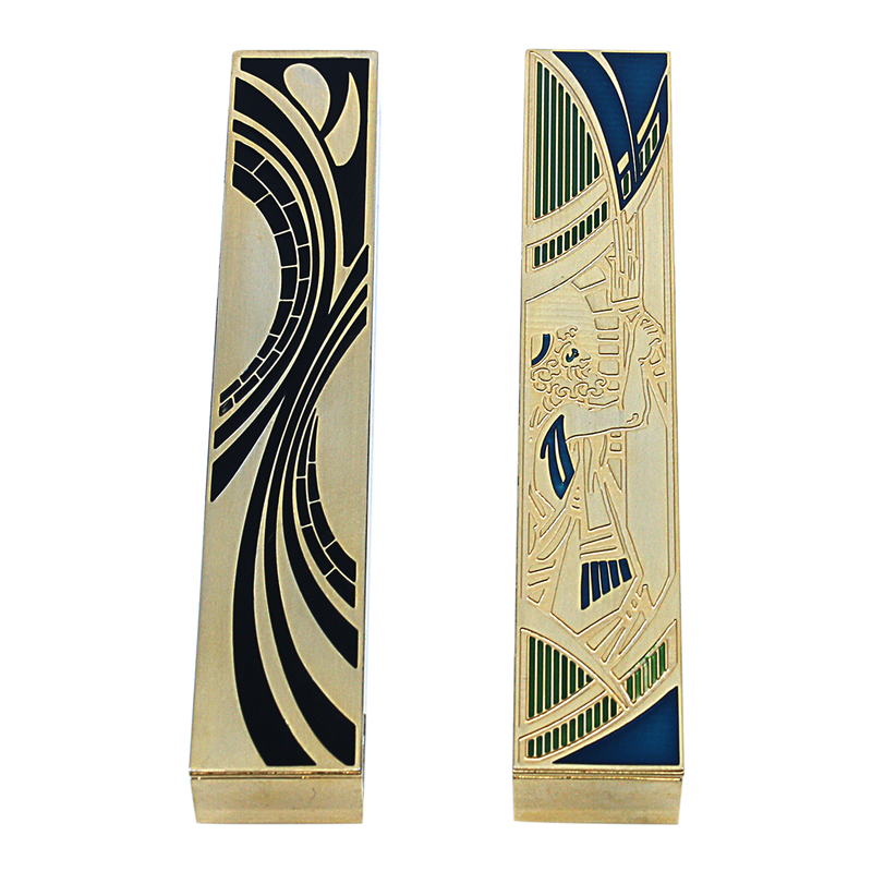 Mezuzah Case Jacob`s Sons Oblong