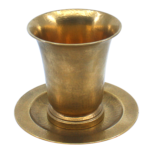 Gold plated Sterling Silver Small Cup and Tray Clearance 6924