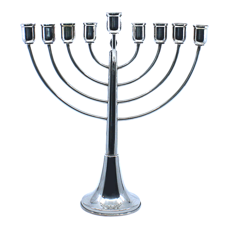 Sterling silver Menorah for Hanukkah on clearance
