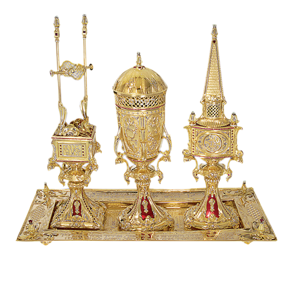Golden Havdalah Set