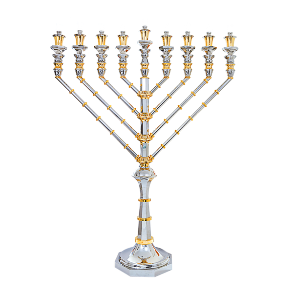 World Record Silver Menorah