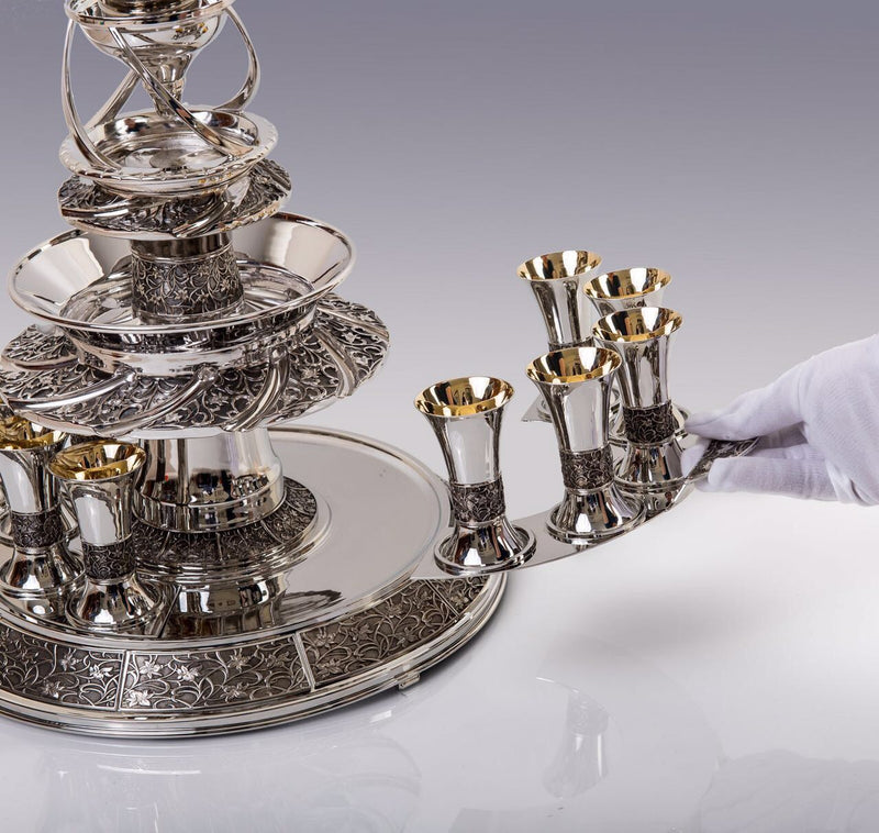 Falls Silver Kiddush Wine Fountain