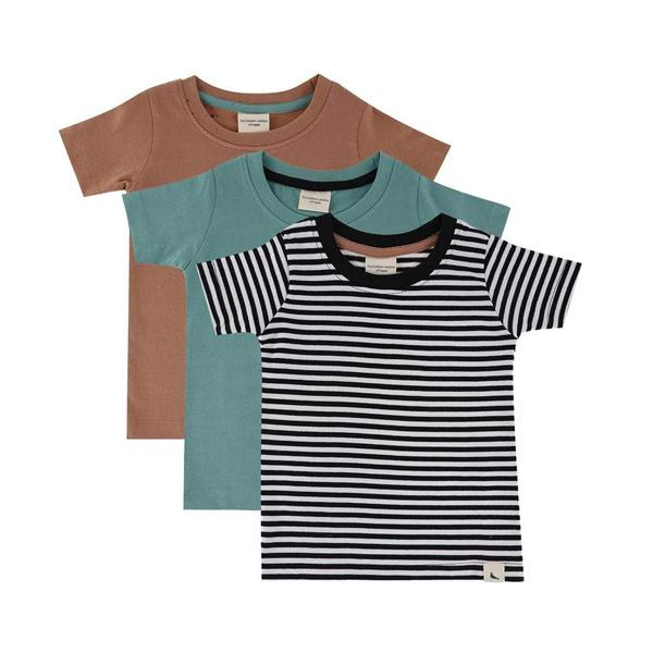 3er Pack Stripe T-Shirts - Beau Beau Shop