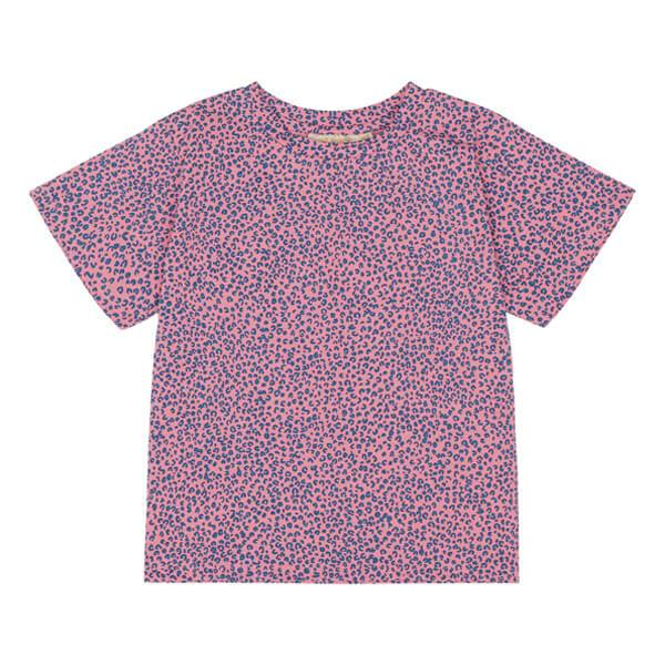 T-Shirt Dominique Leospot Pink Icing - Beau Beau Shop