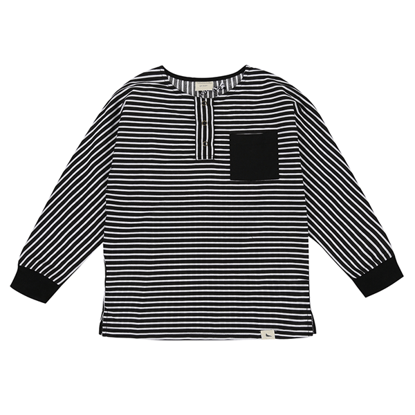 Stripe Woven Shirt - Beau Beau Shop