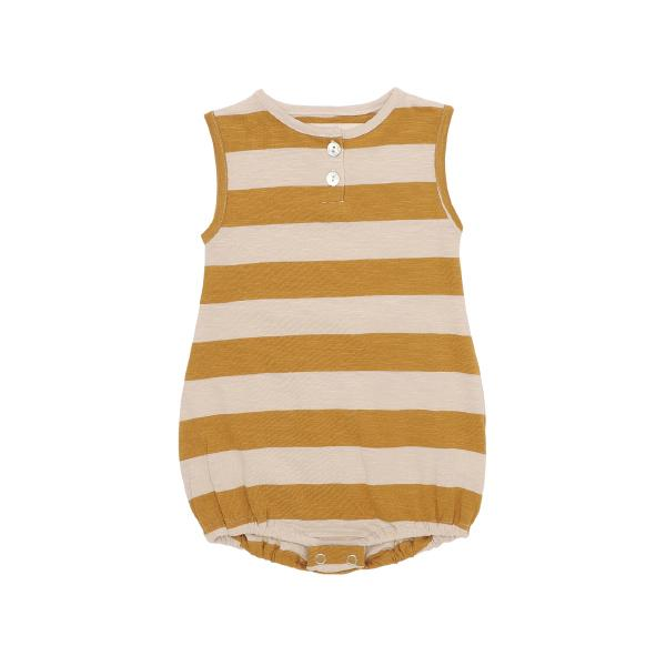 Onesie No Sleeve Stripes - Beau Beau Shop