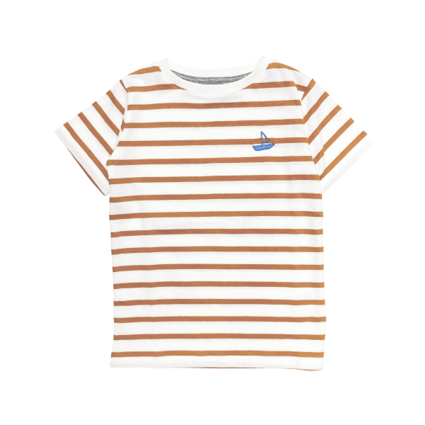 Stripes Boat T-Shirt - Beau Beau Shop