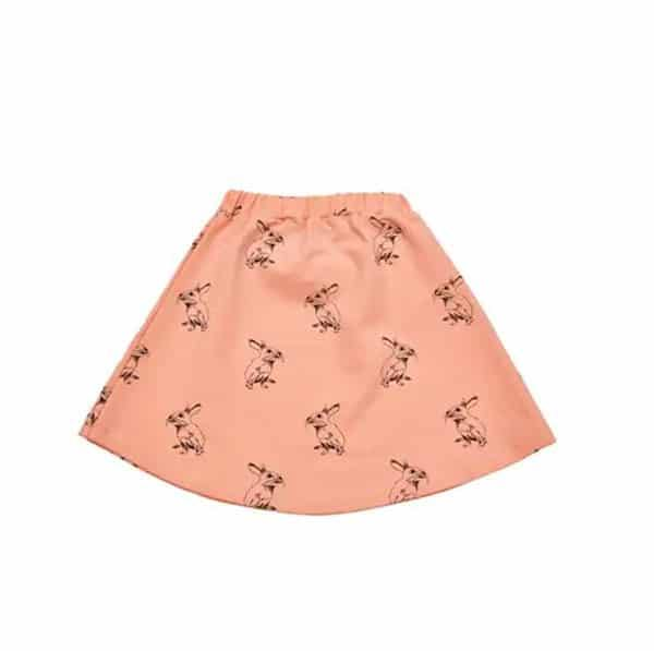Peach Bunny Skirt - Beau Beau Shop