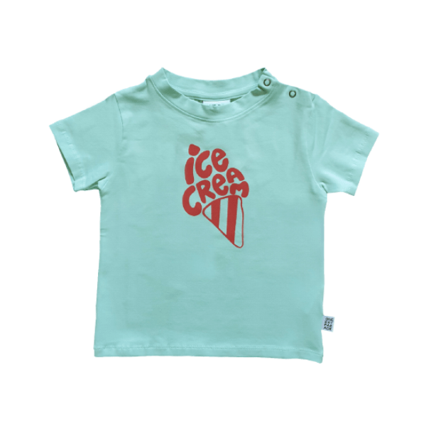T-Shirt Blue Ice Cream - Beau Beau Shop