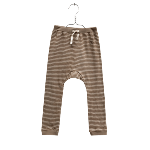 Stripes Leggings Brown - Beau Beau Shop