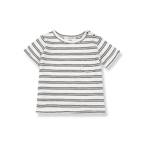 T-Shirt Luca Off-White - Beau Beau Shop