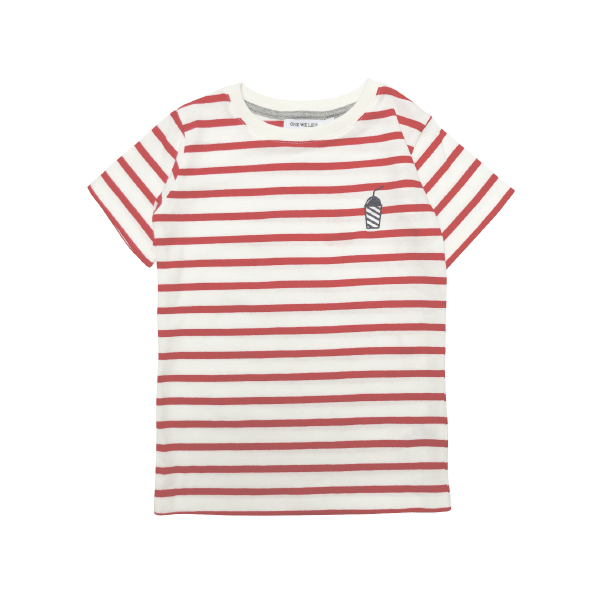 Stripes Milkshake T-Shirt - Beau Beau Shop