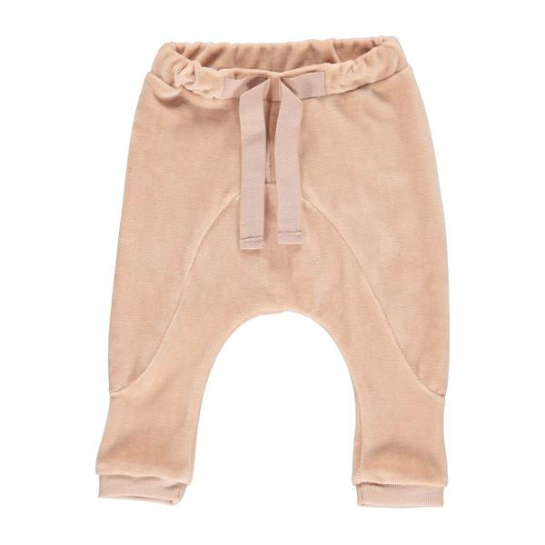 Velvet Baggy Pants Mud - Beau Beau Shop