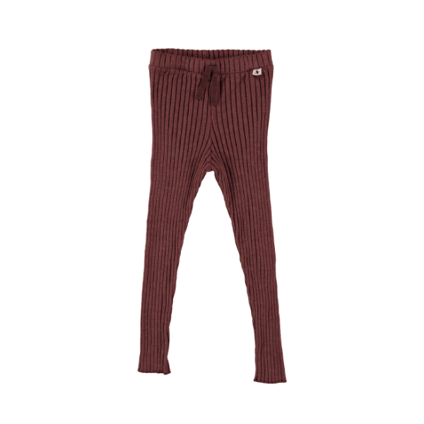 Strick Leggings Wine - Beau Beau Shop