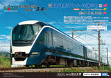 "(Pre-Order) KATO 10-1662 - Series E260 ""SAPHIR ODORIKO"" (4 cars add-on set)"