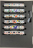 "Greenmax 50669 - Tobu Railway Type 50090 ""IKEBUKURO/KAWAGOE ART TRAIN"" (6 cars add-on set)"