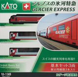 KATO 10-1145 - Glacier Express (3 car basic set)