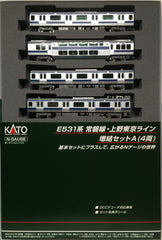 KATO 10-1291 - Series E531 Joban/Ueno-Tokyo Line (4 car add-on set A)