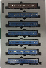 "KATO 10-1387 - Sleeper Express ""TSURUGI"" (7 car basic set)"
