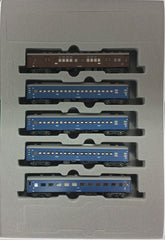 "KATO 10-1388 - Sleeper Express ""TSURUGI"" (5 car add-on set)"