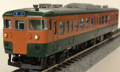 KATO 10-1408 - Series 115-300 (Shonan Color / 7 car basic set)