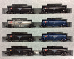 KATO 10-1515 - Tank Wagon Type TAKI43000 (Japan Oil Transportation / Black / Blue / Silver / 8 car set)