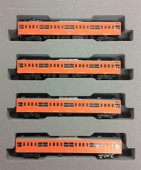 KATO 10-1552 - Series 201 Chuo Line (4 car add-on set)