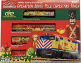 "KATO 106-2015 - ""Operation North Pole"" Christmas Train Set"
