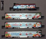 "KATO 106-2016 - 2016 Operation North Pole ""Christmas Train"" (4 car basic set)"