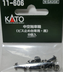 KATO 11-606 - Wheels (Black)