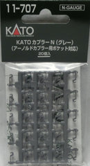 KATO 11-707 - KATO Coupler N (gray)