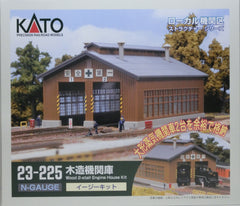 KATO 23-225 - Wood 2-stall Engine House Kit