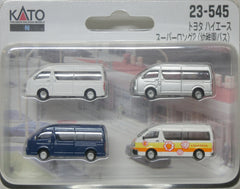KATO 23-545 - N Scale Car Toyota Hiace (Super Long body - kindergarten bus)
