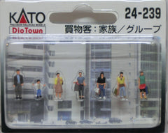 KATO 24-239 - N Scale Shopping People