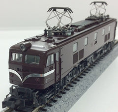 KATO 3055-1 - Electric Locomotive Type EF58 (small side window /  brown)