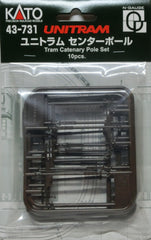 KATO 43-731 - UNITRAM Tram Catenary Pole Set