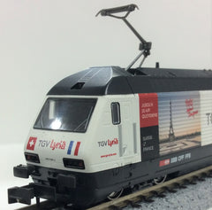 "KATO K137120 - Electric Locomotive Type Re460 SBB ""TGV Lyria"""