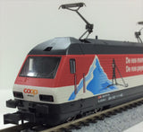 "KATO K137123 - Electric Locomotive Type Re460 SBB ""COOP Pro Montagna"""