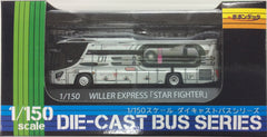 "Popondetta 8207 - Die Cast Bus WILLER EXPRESS ""STAR FIGHTER"""